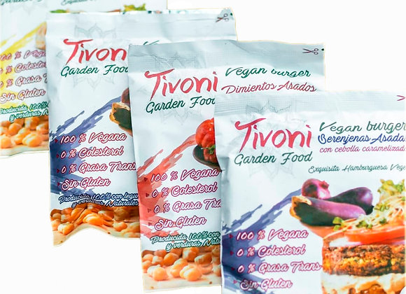 Vegan Burger Tivoni