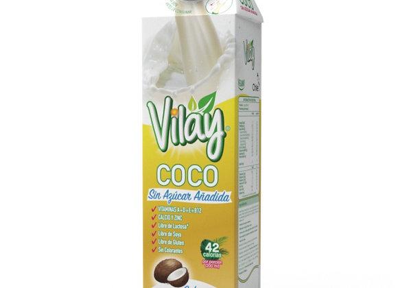 Leche Coco sin azúcar Vilay