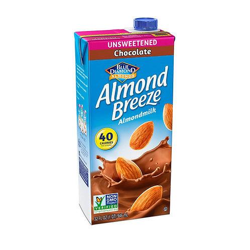 Leche Almendra Chocolate sin endulzar