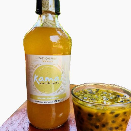 Kombucha sabor Passion fruit