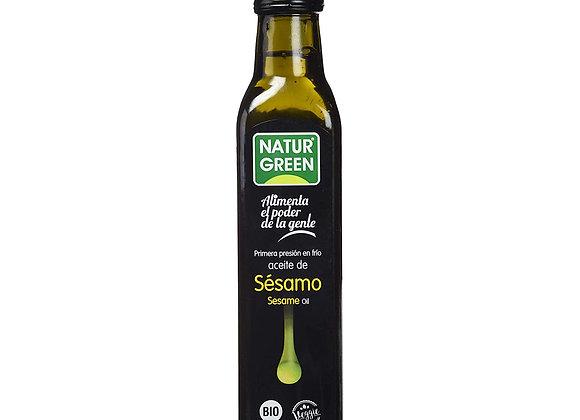 Aceite Virgen de Sésamo orgánico 250mL