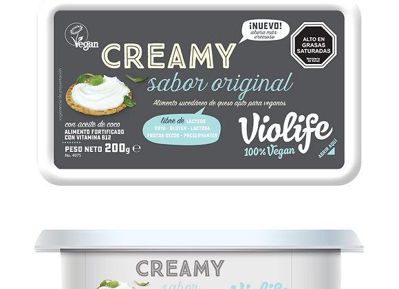 Queso Crema Violife Sabor original