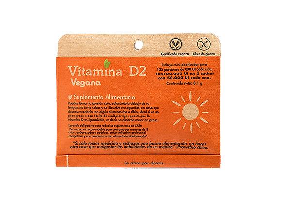 Vitamina D2 en polvo