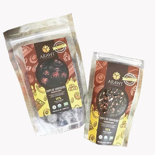 Cobertura en Chips Chocolate
