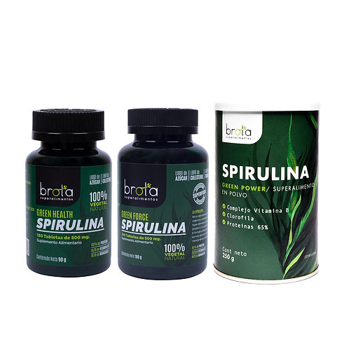 Spirulina Orgánica Brota