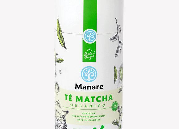 Té Verde Matcha Orgánico Manare 100g
