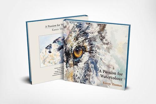 A Passion for Watercolour, author Karen Thomas