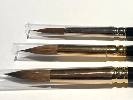What makes a good watercolour brush?
