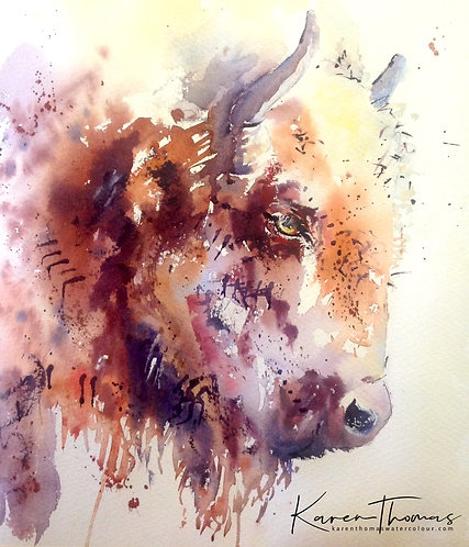Bison painting