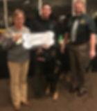 HKC Donation to EDC Canine Sheriff 2019.