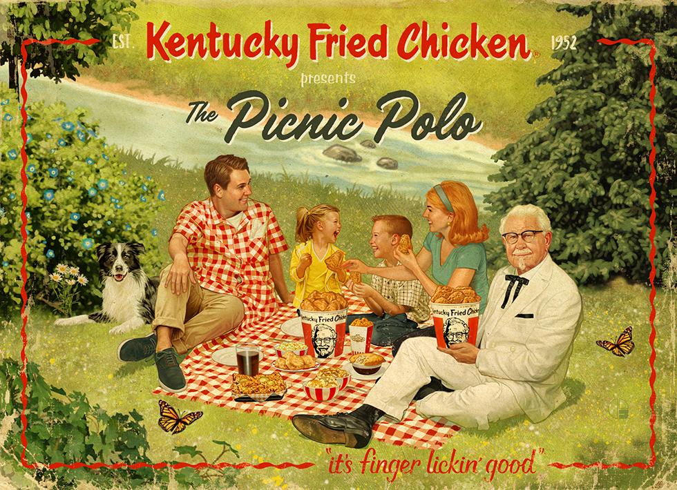 KFC Picnic Polo