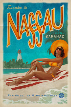 Nassau Poster Illustration