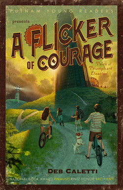 A Flicker of Courage book cover