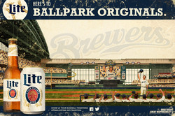 Milwaukee Brewers ML horizontal poster final art 3 with type for me 24x36 980