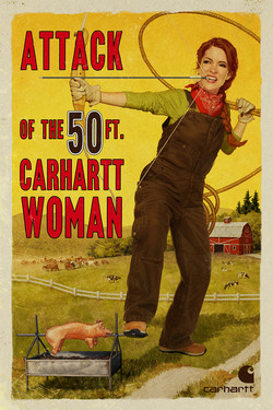 Carhart Poster Illustration