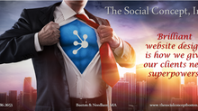 Be your own superhero. We can help! The Social Concept, Inc.