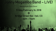 Jonny Mogambo Band Live - Fri, Feb. 16, 2018!!