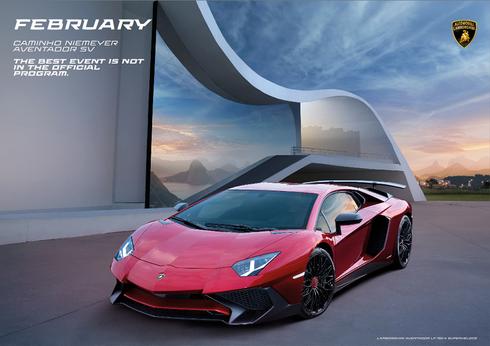 Lamborghini Official Calendar