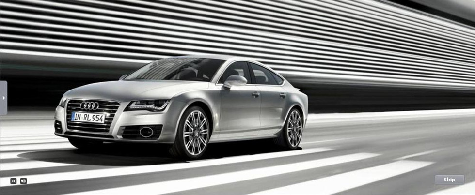 Audi A7 Campaign
