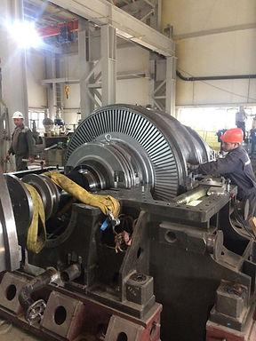 В 2019 году на заводе по производству аммиака ООО «ЕВРОХИМ-СЗ» г. Кингисепп был произведен пуск парогенераторной турбоустановки ПГТУ-12 номинальной мощностью 12МВт.