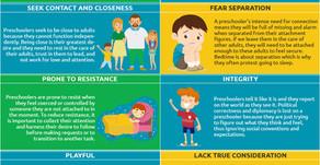 The Preschooler Personality