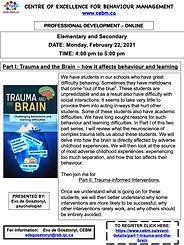 Trauma and Brain-Part I -flyer PD CEBM.j