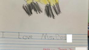 L'enseignant a conquis le cœur de mon enfant