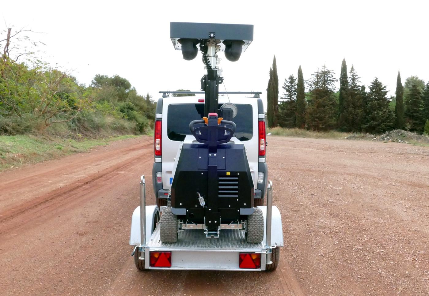 Solution de vigiprotection mobile et autonome