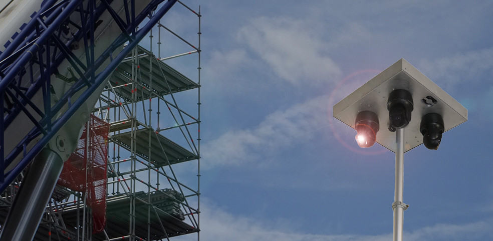Solution de videoprotection pour BTP, chantiers