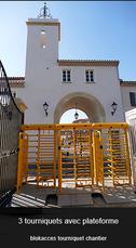Solution de contrôle d'accès temporaire
