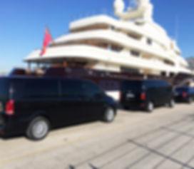 Transferts Yachting - jet privés - héliports- Golf