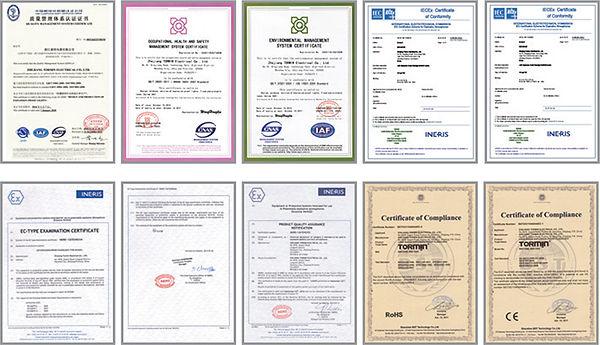 Certificatons ATEX