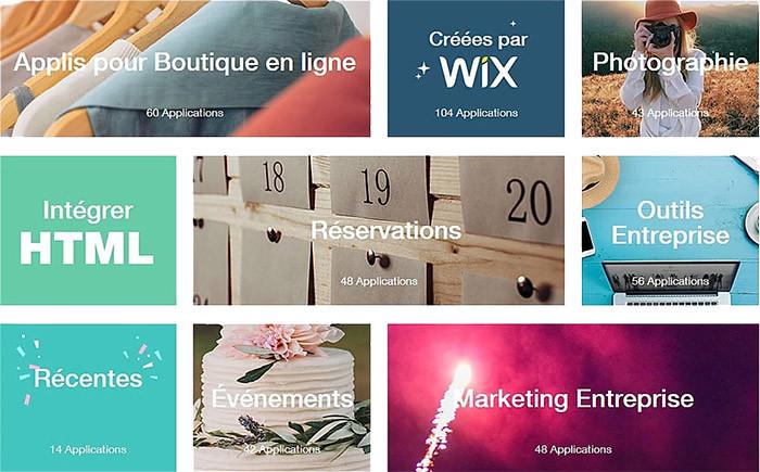 Créer son site Internet en 21h avec Wix