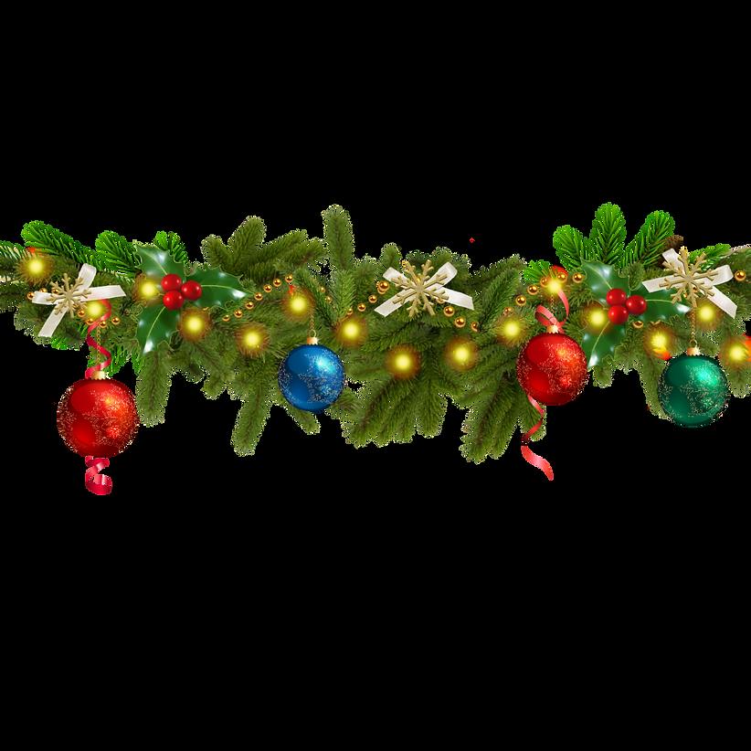 —Pngtree—christmas decoration pine branc