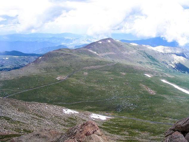 Astonishing view of the Colorado mountai