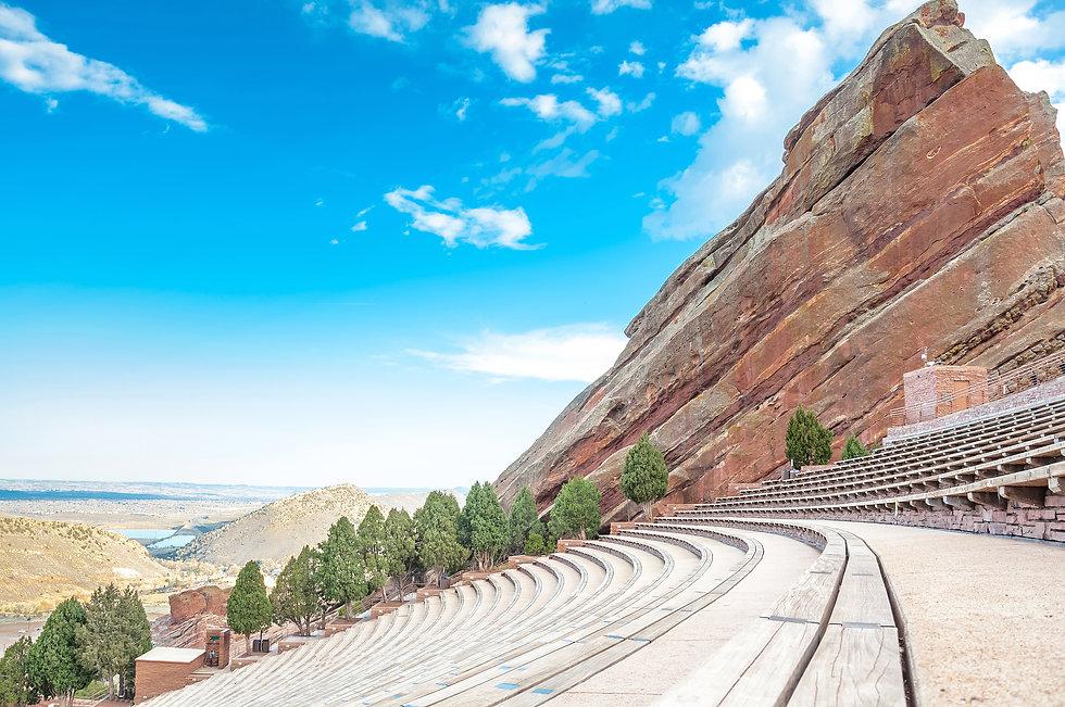 Historic Red Rocks Amphitheater near Den