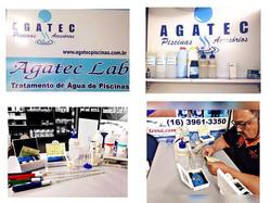 Agatec LAB. Laboratório computadorizado para analise de água piscina