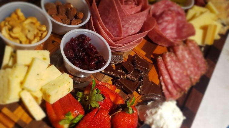 Charcuterie Board Class at Indian Island Winery