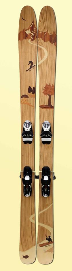 09 Amon Dava skis artisanaux