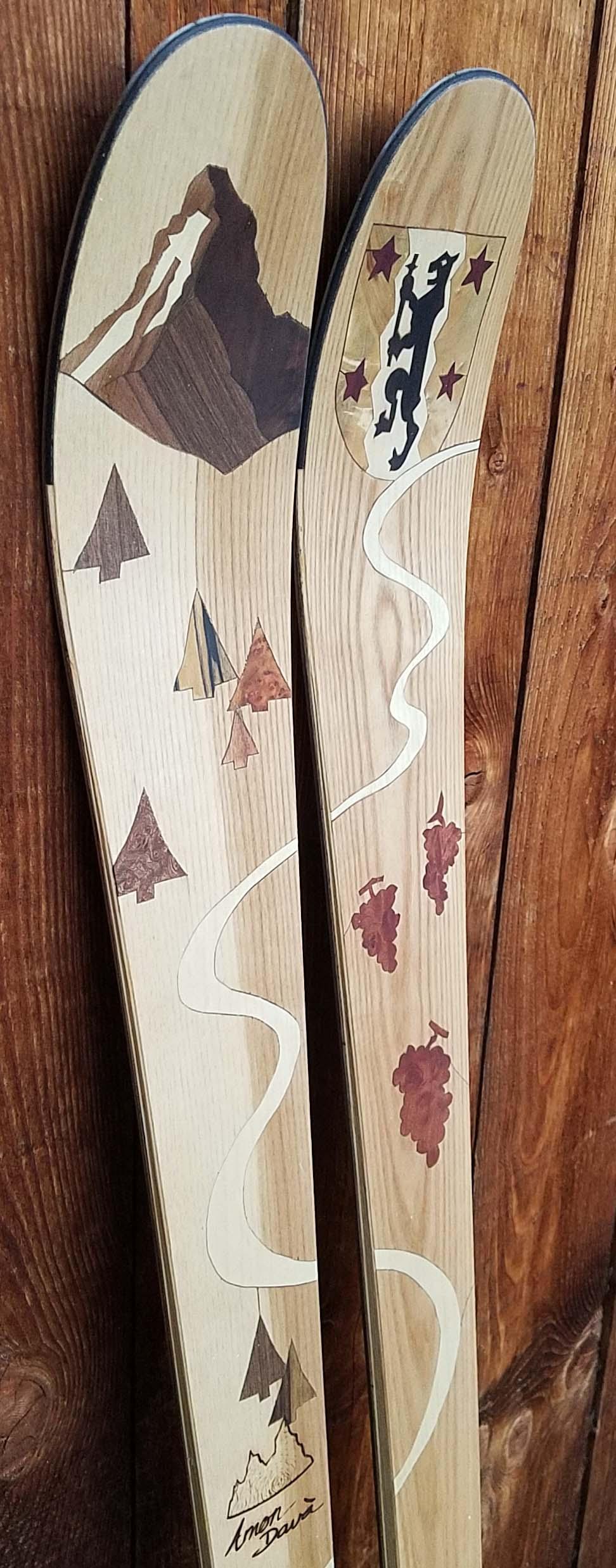 Amon Dava ski bois cervin matterhorn