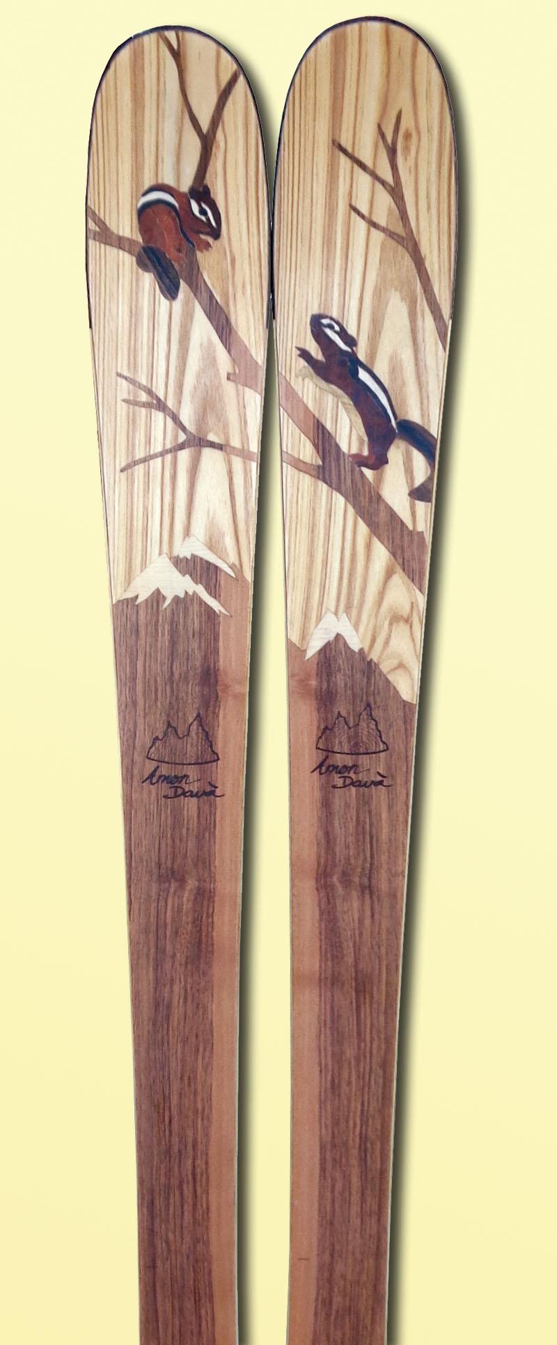 Amon Dava ski bois Chipmunk