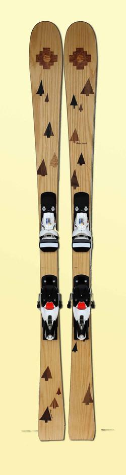 13 Amon Dava skis slalom bois
