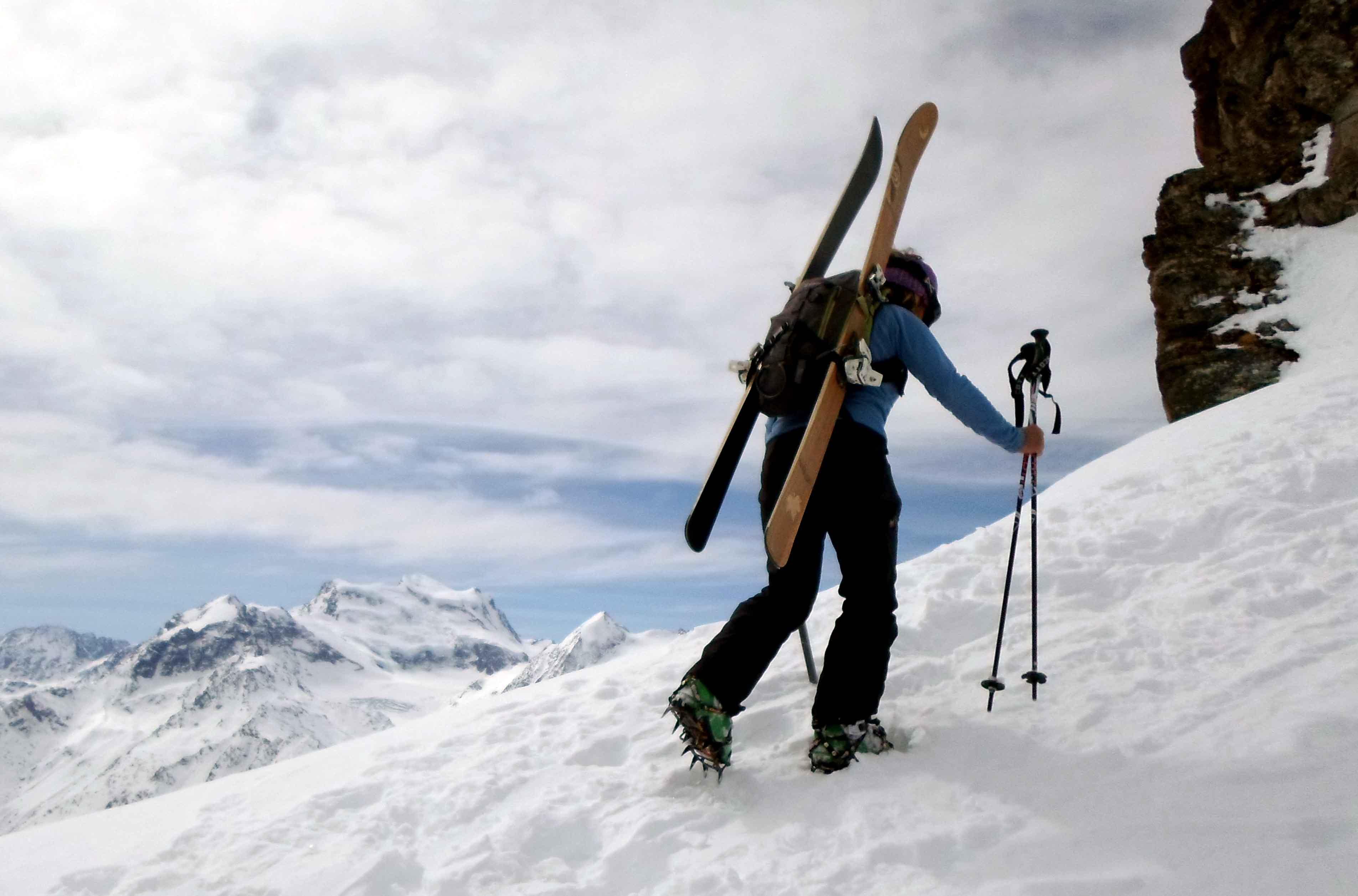013 Amon Dava ski bois alex crampons
