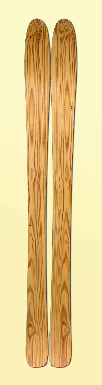 14 Skis bois faits-main