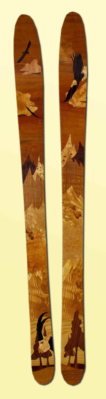 amon dava skis bois aigle