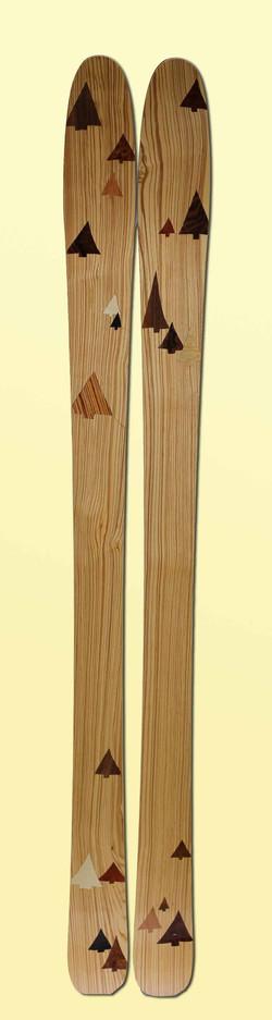 11 Amon Dava skis fait main
