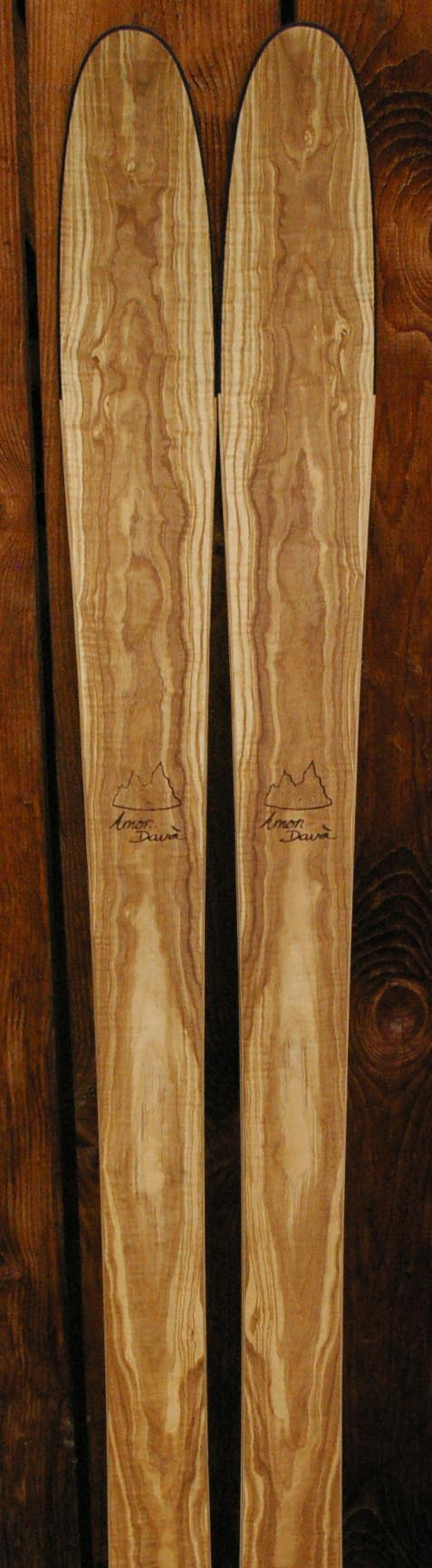 amon dava ski bois frene olivier
