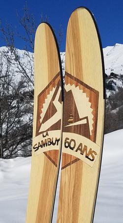 Amon Dava ski bois sambuy station 60 ans
