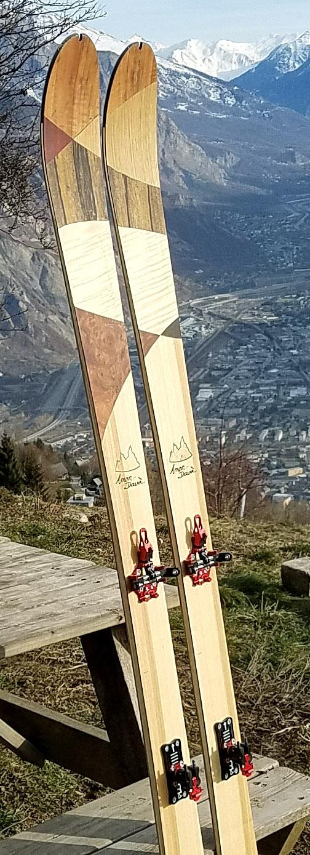 Amon dava ski bois rando arlequin