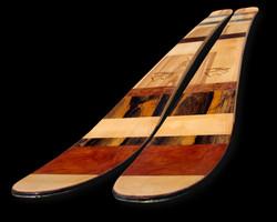 Amon Dava ski bois Bandes